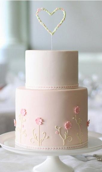torta de dos pisos blanca. cake