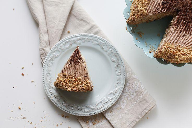 Подарочек ко дню рождения - торт Киевский Грильяжный - В нашем доме завёлся Мыш!