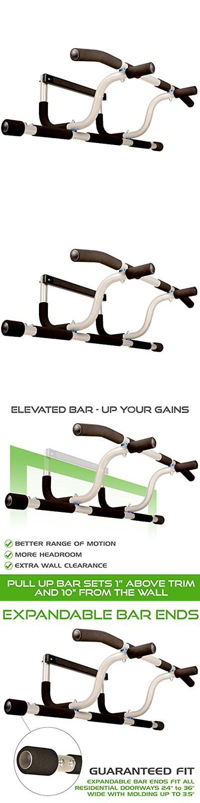 pull up bars ultimate body press xl doorway pull up bar with elevated and