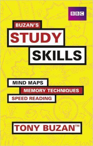 """Buzan's study skills : mind maps, memory techniques, speed reading"" by Tony Buzan.  Classmark: 303.823.2"