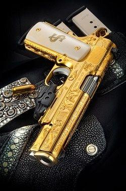 Golden Gangster Gun…