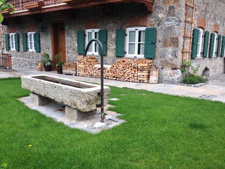 14 besten steintr ge bilder auf pinterest gartenbrunnen - Gartengestaltung brunnen ...