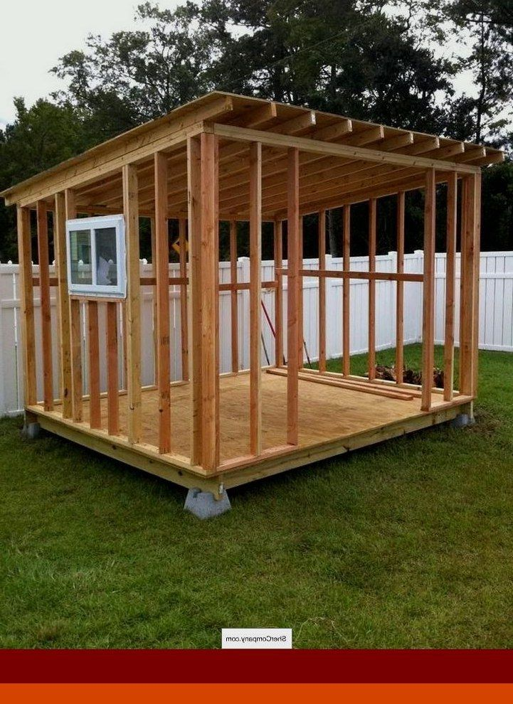 Diy Shed Plans 8x12 We Ve Put Together These Shed Plans And Materials Lists To Help Sheds Backyard In 2020 Shed Design Shed House Plans Shed Plans