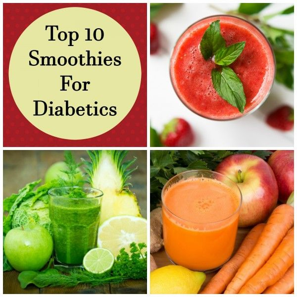 Top 10 smoothies for diabetics. Yes, you can have smoothies in your diet when you have diabetes.