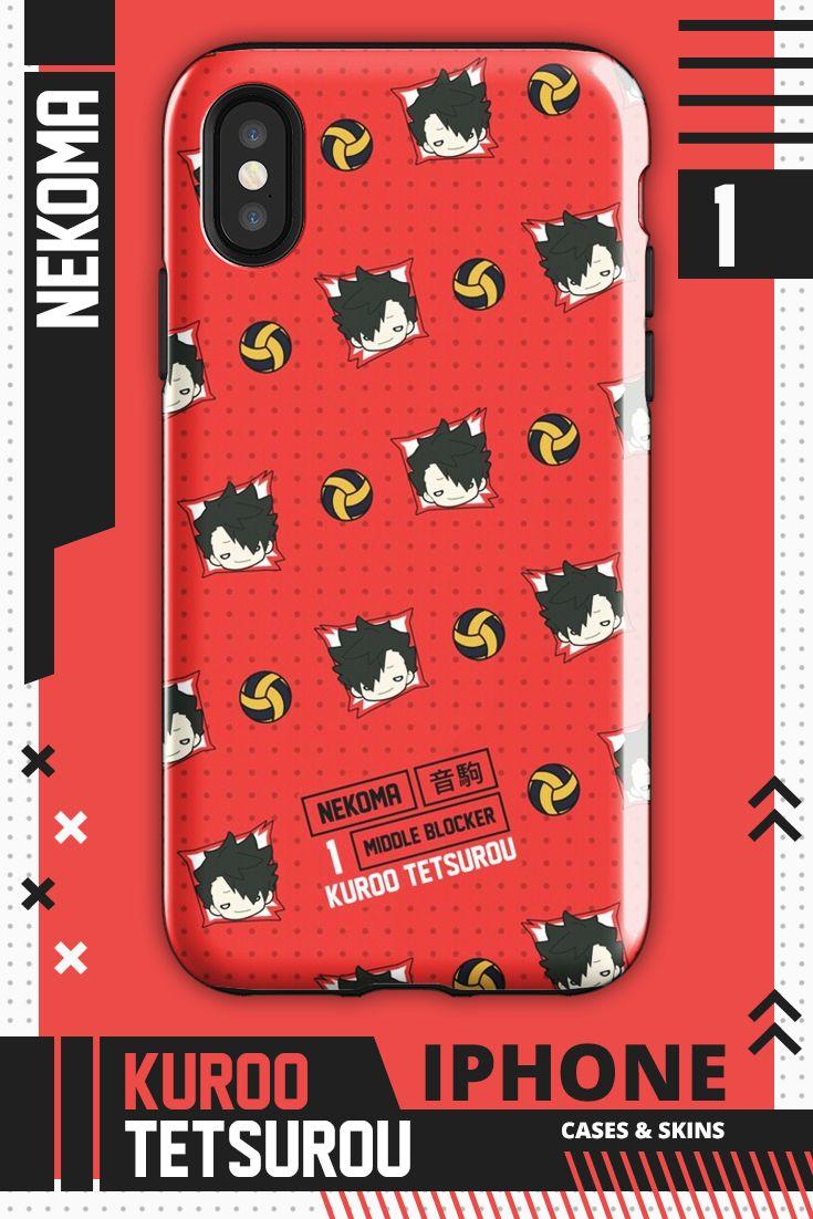 Kuroo Tetsurou Pattern Nekoma Haikyuu Iphone Case By Ihasartwork In 2020 Haikyuu Kuroo Tetsurou Iphone Case Covers