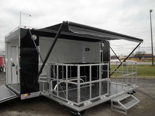 Portable Stage Trailers For Bands Fairs And Event