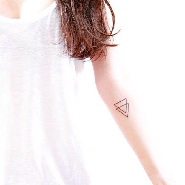 35 Beautifully Understated Minimal Tattoos - UltraLinx