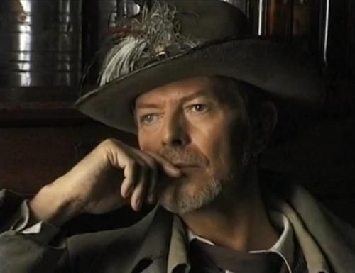 """Bowie at 50: """"I cannot express to younger people how great it is to be this age. I, like them, would never have believed it. It's like describing the taste of a peach. They'll find out when they get here."""" and """"Everything I read about hitting a midlife crisis was true. I had such a struggle letting go of youthful things and learning how to exist and have enthusiasm while settling into the comfort of an older age. It was an awful period... Now I'm comfortable with my age & what I've…"""