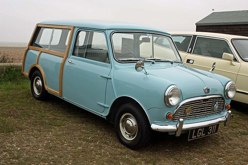 1961 Austin Mini Countryman.  I never should have sold mine :(