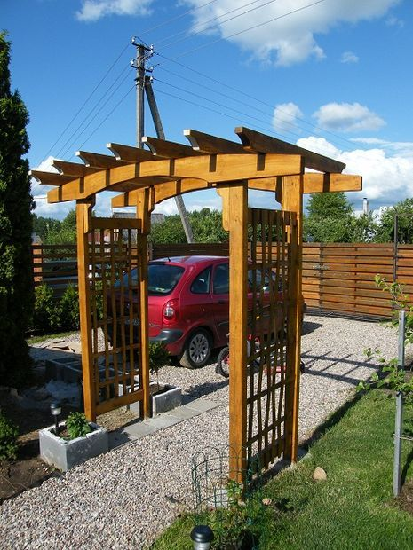 Free wooden trellis plans woodworking projects plans for Trellis or arbor
