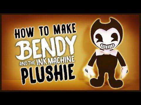 [REUPLOAD] DIY Bendy and the Ink Machine Sock Plushie! FREE PATTERN! BATIM Plush Tutorial - YouTube