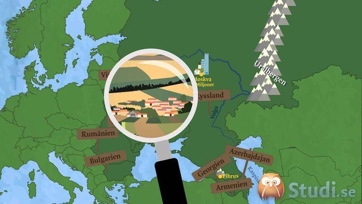 Östra europa (Geografi) - Studi.se