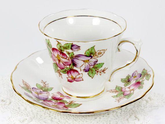 die besten 25 bone china tea cups ideen auf pinterest. Black Bedroom Furniture Sets. Home Design Ideas