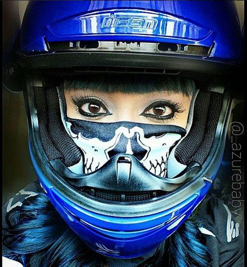 ZombieBangBang Motorcycle Mask