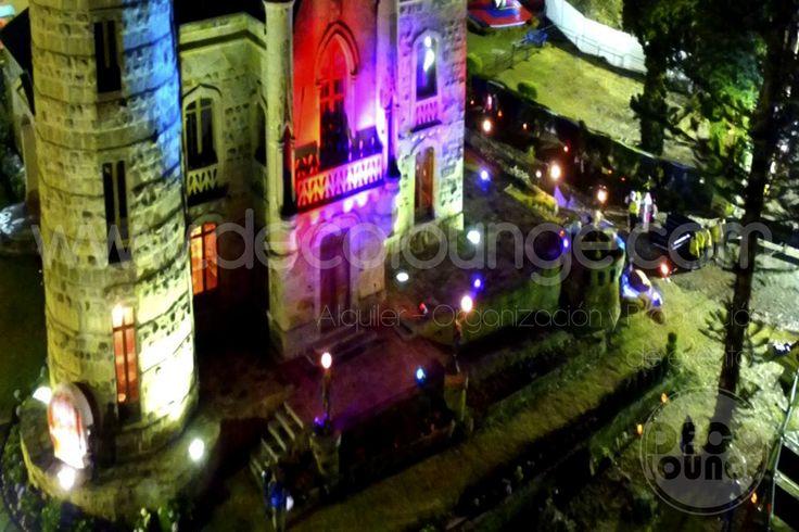 eventos en el castillo marroquin