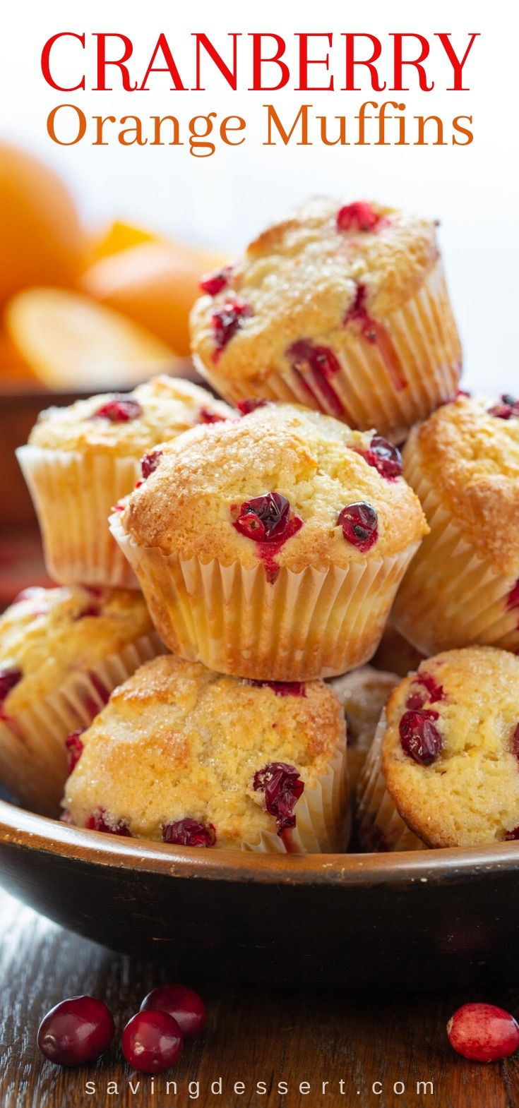 Cranberry Orange Muffins Recipe Cranberry Orange Muffins Homemade Muffins Cranberry Orange Muffin Recipe
