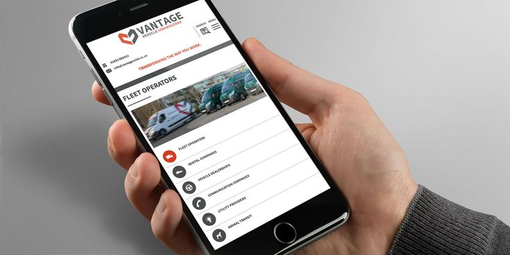 Vantage Vehicle Conversions - Brand / Design / Print / Photography / Website