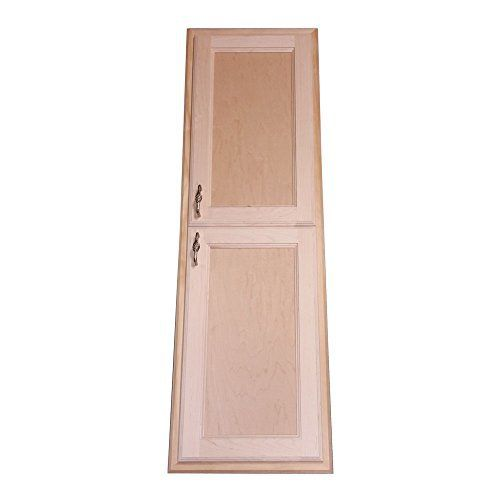 Recesses in the wall between studs! easy installation. Simply put construction adhesive (not included) on the back side of the frame and push it into the opening in your drywall. Four fully adjustable glass shelves. Concealed hinges, door is left undrilled for a knob or handle so you can mount... see more details at https://bestselleroutlets.com/home-kitchen/furniture/bathroom-furniture/product-review-for-wood-cabinets-direct-christopher-recessed-in-the-wall-christopher-medic