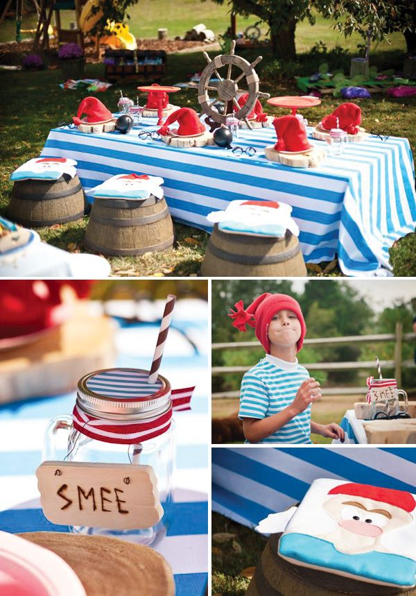 Magical Neverland Inspired Peter Pan Birthday Party  OVERDONE BUT SOME CUTE FAIRY IDEAS