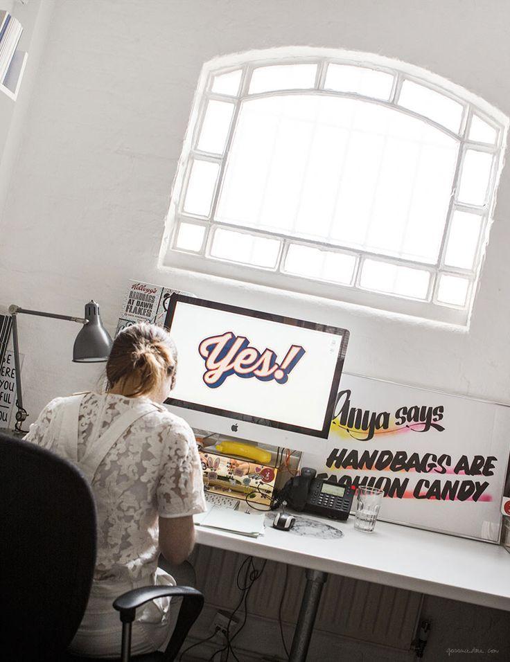 Anya Hindmarch Design Studio / Garance Doré