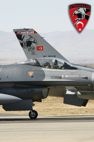 F-16Fighting Falcons Turkish Air Force