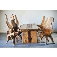 Фотография: Кухня и столовая, Мебель, Обеденные столы, Фото Большой стол из дерева тамаринд / WOODSTONEBALI  на InMyRoom.ru