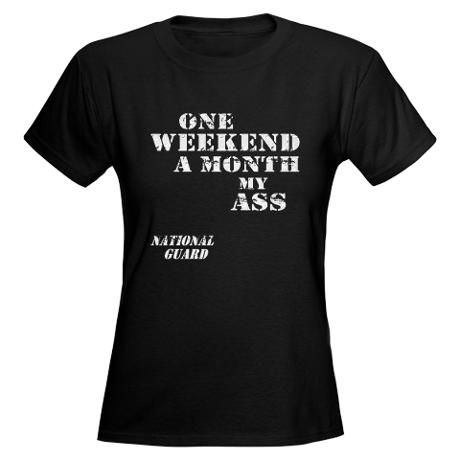 National Guard Women's Dark T-Shirt