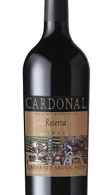 Wine label for Cardonal Winery