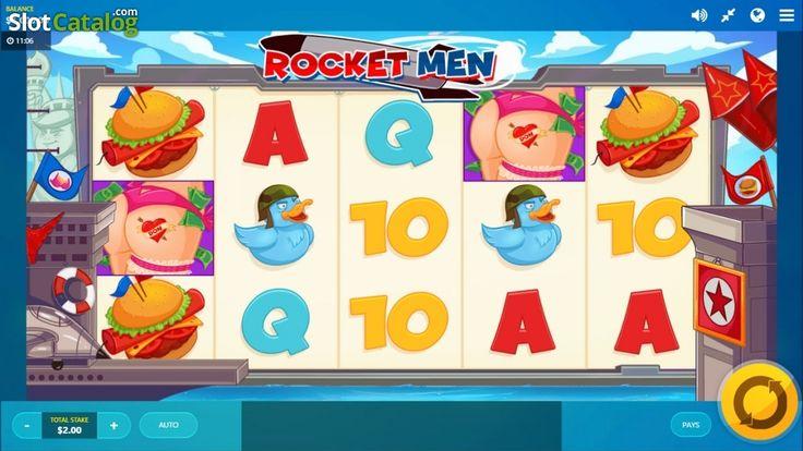 Reels screen. Rocket Man(Video SlotfromRed Tiger)