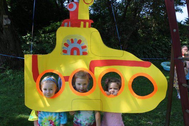 Todos en el submarino amarillo!!!