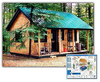 Diy plans 16x20 vermont cottage option a tiny house for Vermont house plans