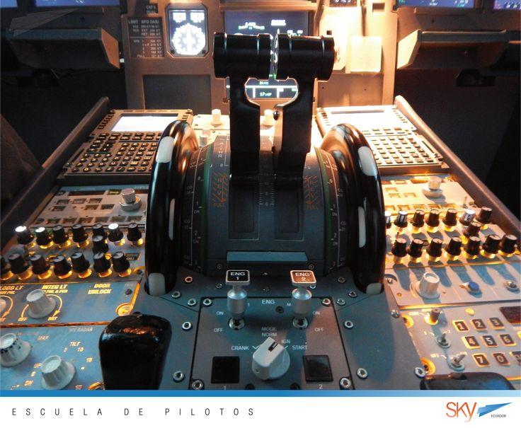 Quieres formate como #Piloto de #aerolínea ? Visítanos!! en #Quito o en #Guayaquil Pbx 04 600-8250