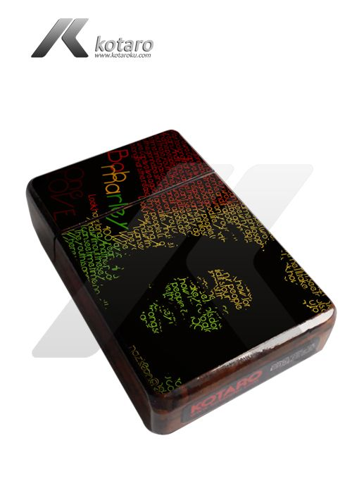 Sample Cigarette Case Wood design Bob Marley. Contact Person call : 0822 9880 3718 Blackberry messenger pin : 5355F9A0