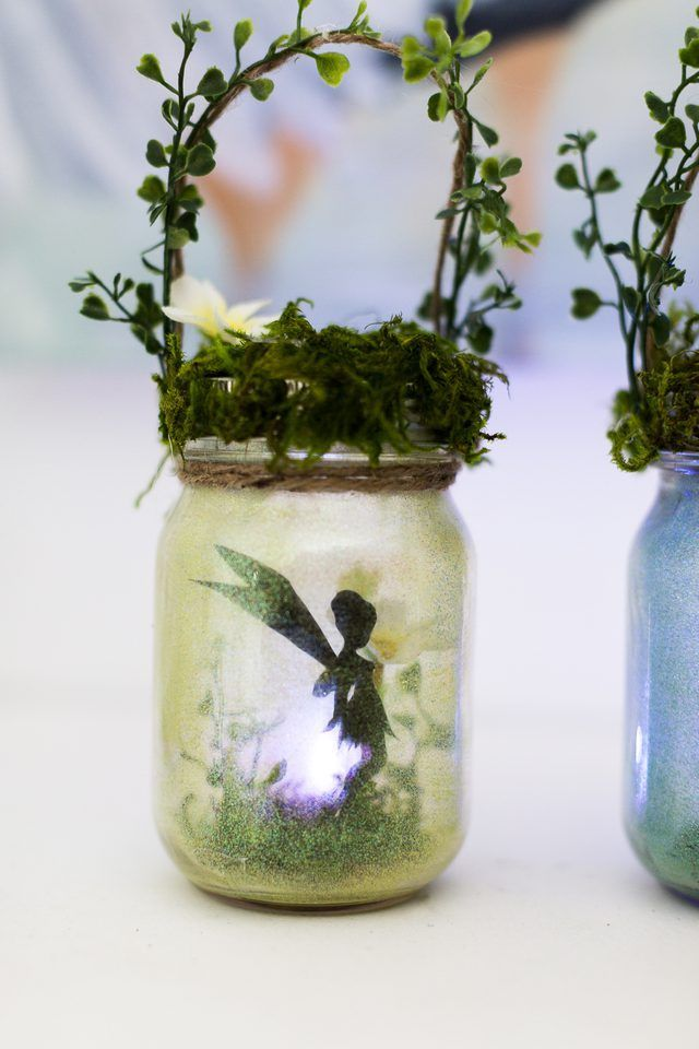 Make your own fairy lanterns- adorable in the garden or used as a night light. They will spark your child's imagination.
