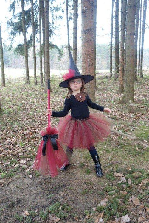 TUTU tylová sukně, sukýnka - Čarodějnice