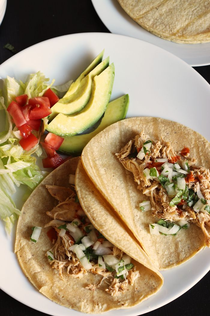 ... Chicken Street Tacos. So simple, but so delicious, these tacos can