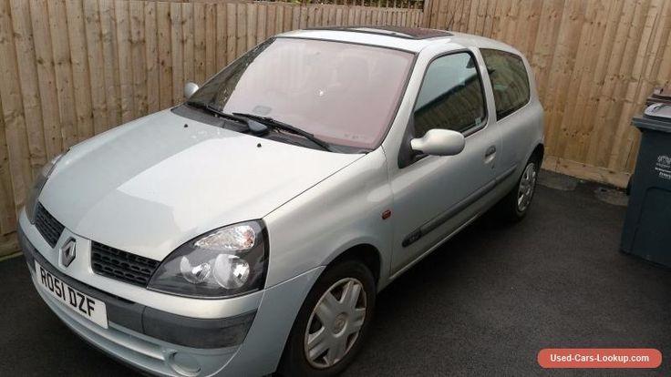 Renault Clio Running Spares or Repairs is more fair 1.2L 2001 #renault #clio #forsale #unitedkingdom