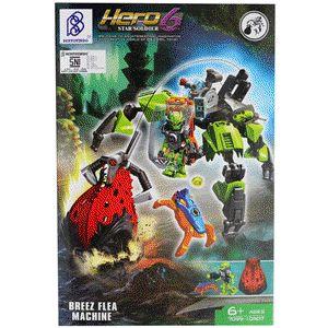 LEGO Brick Seri Hero Factory 6 Star Soldier - Brezz Flea Machine :  - Paket termasuk 1 minifigure LEGO : Brezz - Dilengkapi Buku Panduan Perakitan yang detail dan mudah di mengerti - Produk bisa dikombinasikan dengan Produk Seri Hero 6 Star Soldier lainnya - Bahan High Quality ( Rapi dan Halus ) - Merek Bertoyindo - Merupakan mainan edukasi untuk meningkatkan daya kreativitas dan imajinasi - Untuk Model lain silahkan cek produk dan harganya di lapak kami : www.bukalapak.com/indosoccerstarz