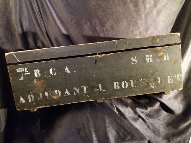 Adjudant J BOUSQUET 7e BCA  Sud France 1914/18 Section Hors Rang S.H.R. MILITARY