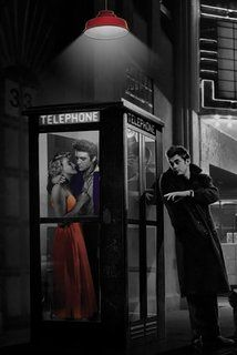 Midnight Matinee Chris Consani Marilyn Monroe Elvis Presley and James Dean Poster, 24 by 36-Inch