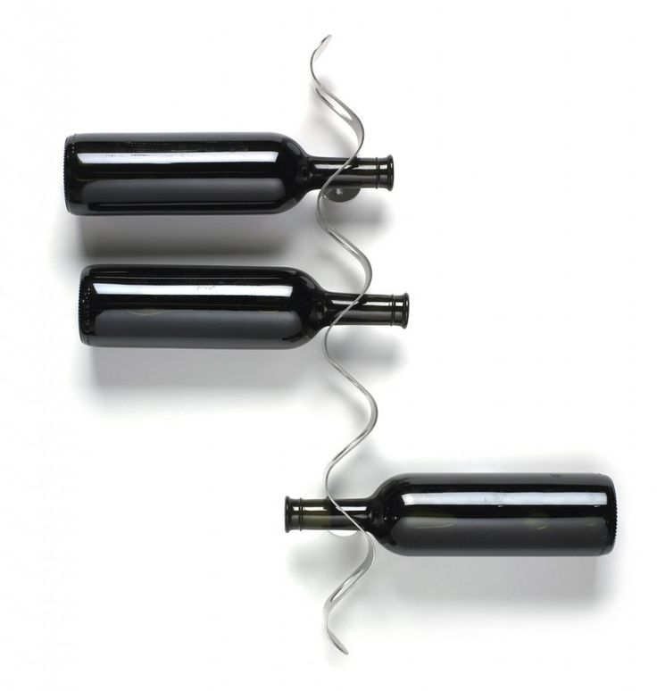 Black+Blum Flow Wine Rack.  A great minimalist style wine rack.   I think this design would look great on the wall of a posh New York loft.  Maybe one in TriBeCa?