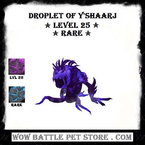 Droplet of Y'shaarj wow pet for sale | Droplet of Y'shaarj WoW battle pet | Best WoW Battle PEts | Best wow pets Droplet of Y'shaarj | Buy wow pets | Wow pets for sale | Shop World of Warcraft items | Shop wow battle pets | World of warcraft pet | Magic Battle Pets | MAgic wow Pets | Best Magic Pet | Raid battle pets | WoW Raid Pets | Siege of orgrimmar WoW Pets | Drop rate Droplet of Y'shaarj | Shop Wow battle pets at WoWBattlePetStore |
