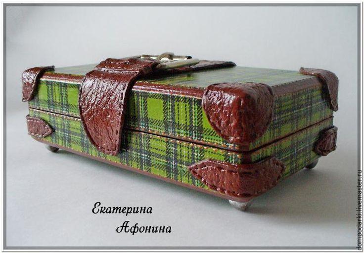 Делаем купюрницу в виде чемодана - Ярмарка Мастеров - ручная работа, handmade