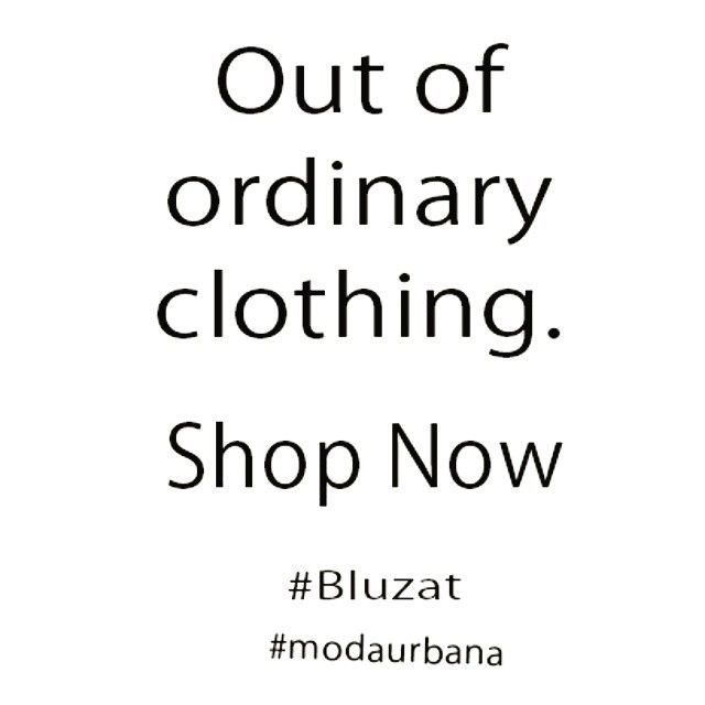 Bluzat out of ordinary clothing! #bluzat #modaurbana #fashion #romania