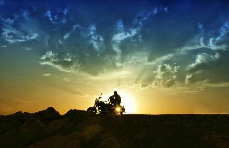 Harley Davidson. Desert Sunrise/Sunset Harley Therapy ...