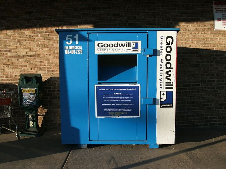 """Fake Clothing Drop Bins Use Your """"Charity"""" Donations To Make a Profit #nonprofit"""