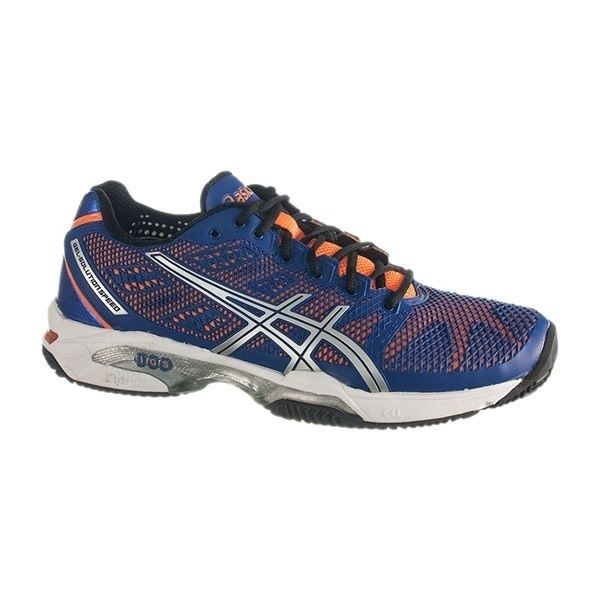 Las Zapatillas de padel ASICS GEL SOLUTION SPEED 2 CLAY AZUL NARANJA  son las mas comodas de rtodo el mercado. fabricadas en China, con materiales de buena calidad. http://www.newpadel.es/zapatillas-asics-padel/3320-asics-gel-solution-speed-2-clay-azul-naranja-e401y-4230.html