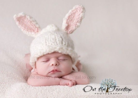 Easter Baby!   Photo op for lil brat! @Terra Dilbeck: Babies, Photo Ideas, Bunny Hat, Baby Photo, Bunnies, Easter Baby, Baby Stuff