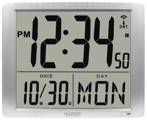 La Crosse Technology 515 1316 Super Large 16 Inch Atomic Digital Wall Clock