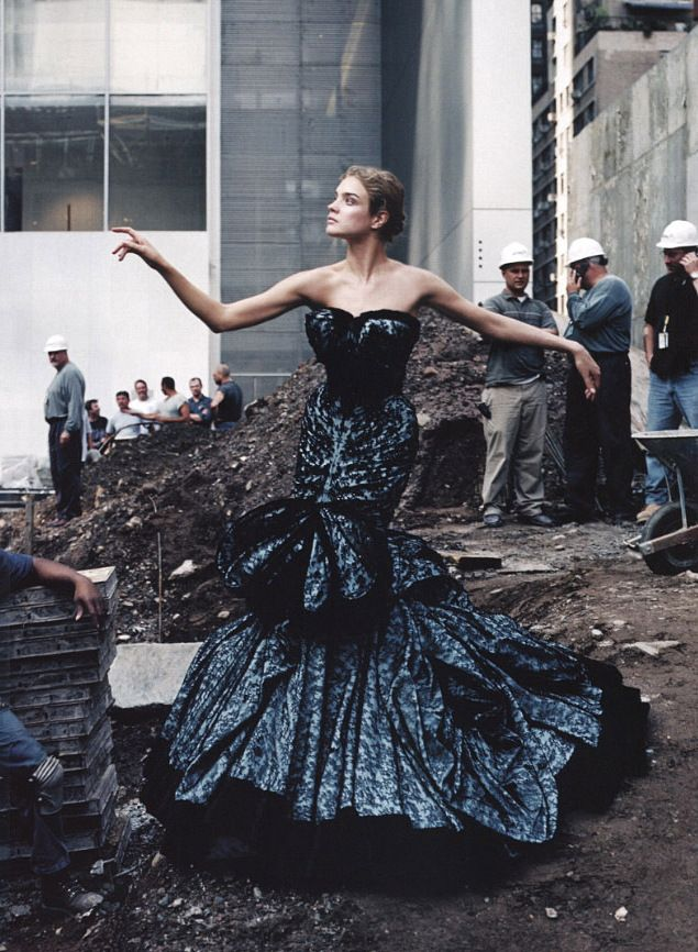 Natalia Vodianova, by Annie Leibovitz, US Vogue